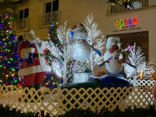 Christmas in Naples Florida