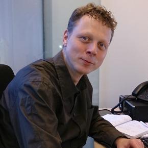 COR-voorzitter René van Urk Dam