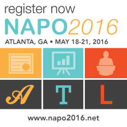 Register NOW #NAPO2016