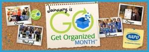 Get Organized Month banner