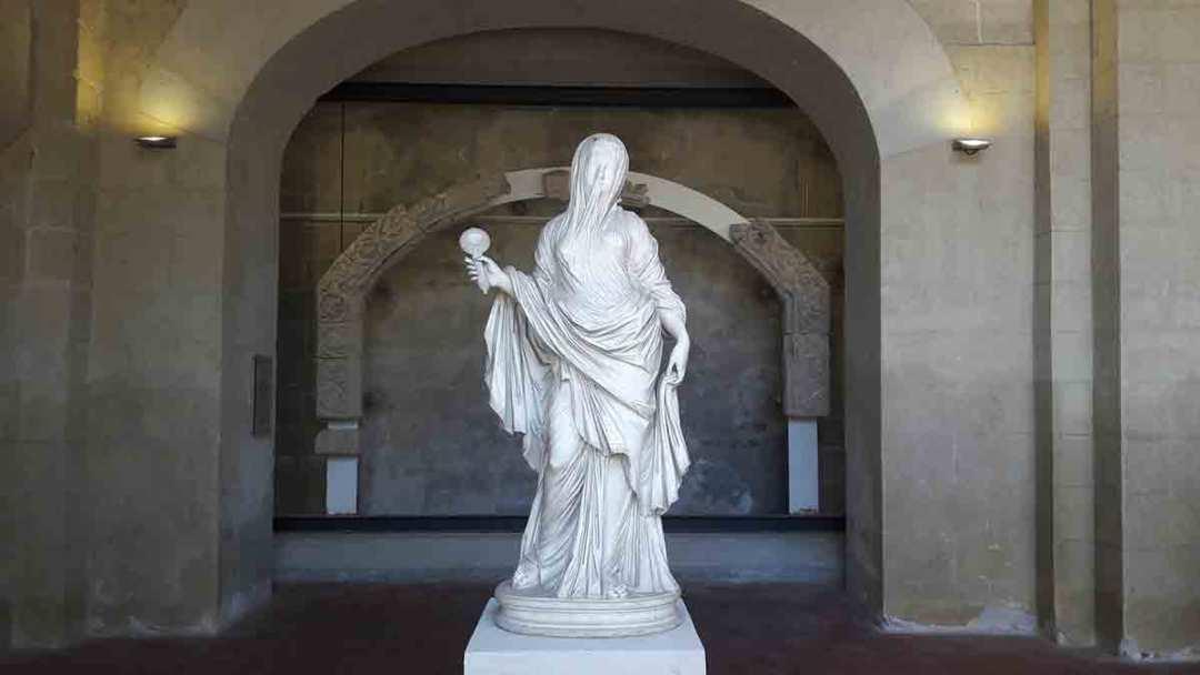 Certosa San Martino Scultura di Samartino