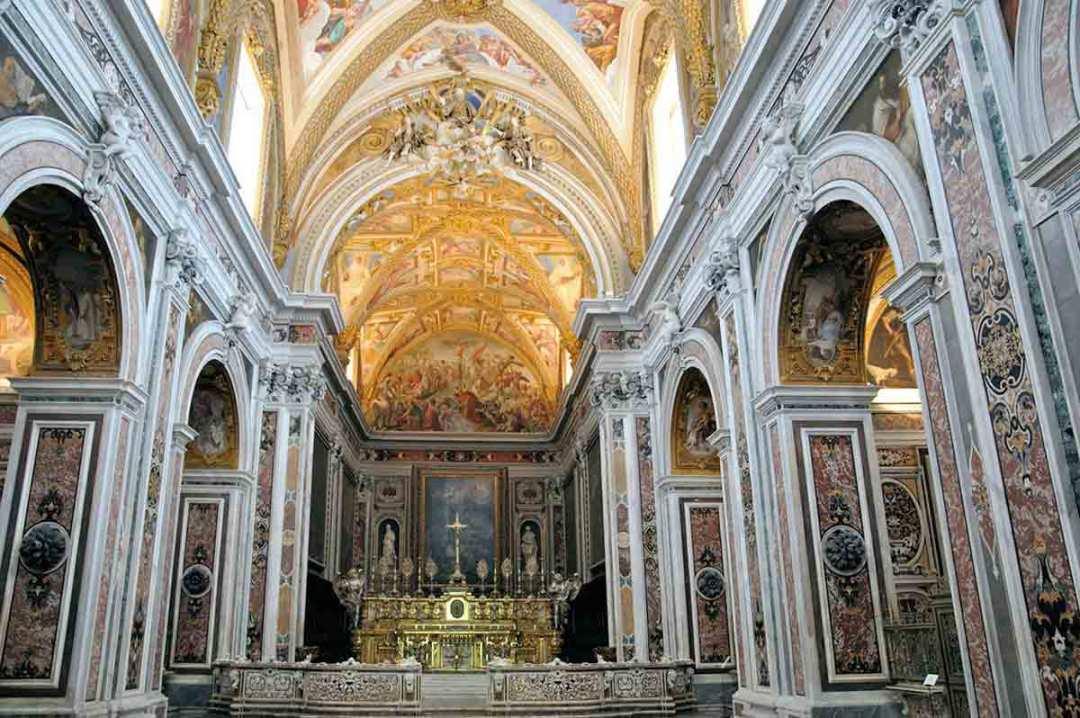 Certosa di San-Martino Chiesa