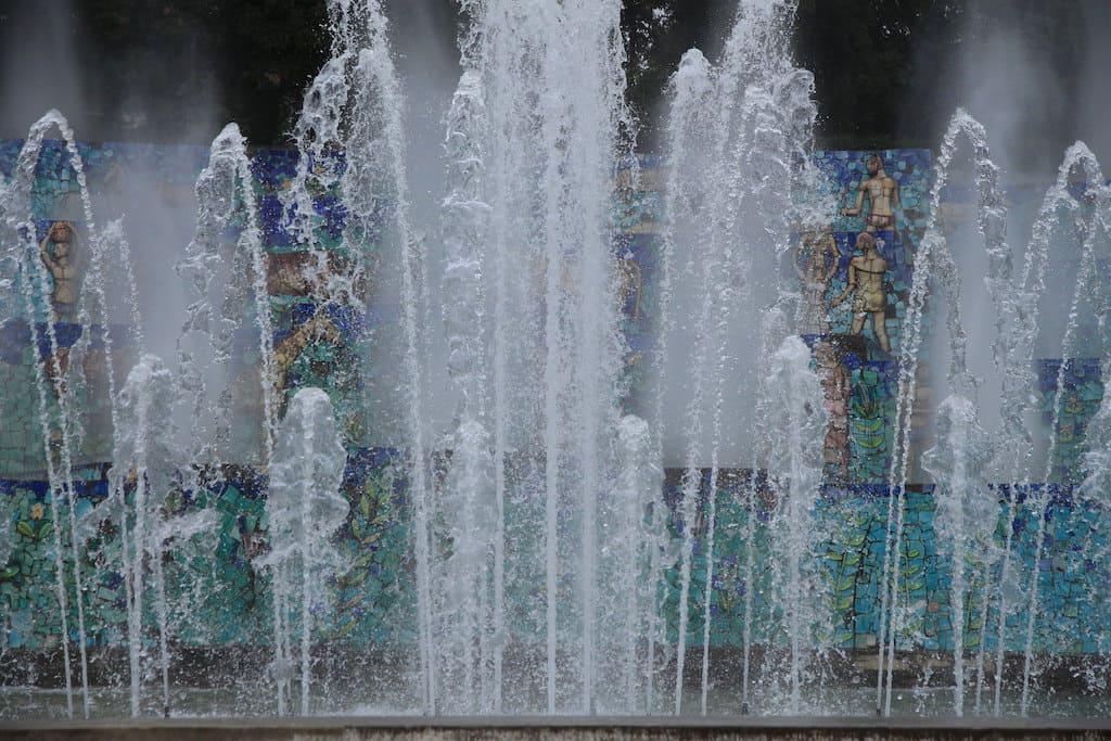 Fuorigrotta Fontana dell Esedra