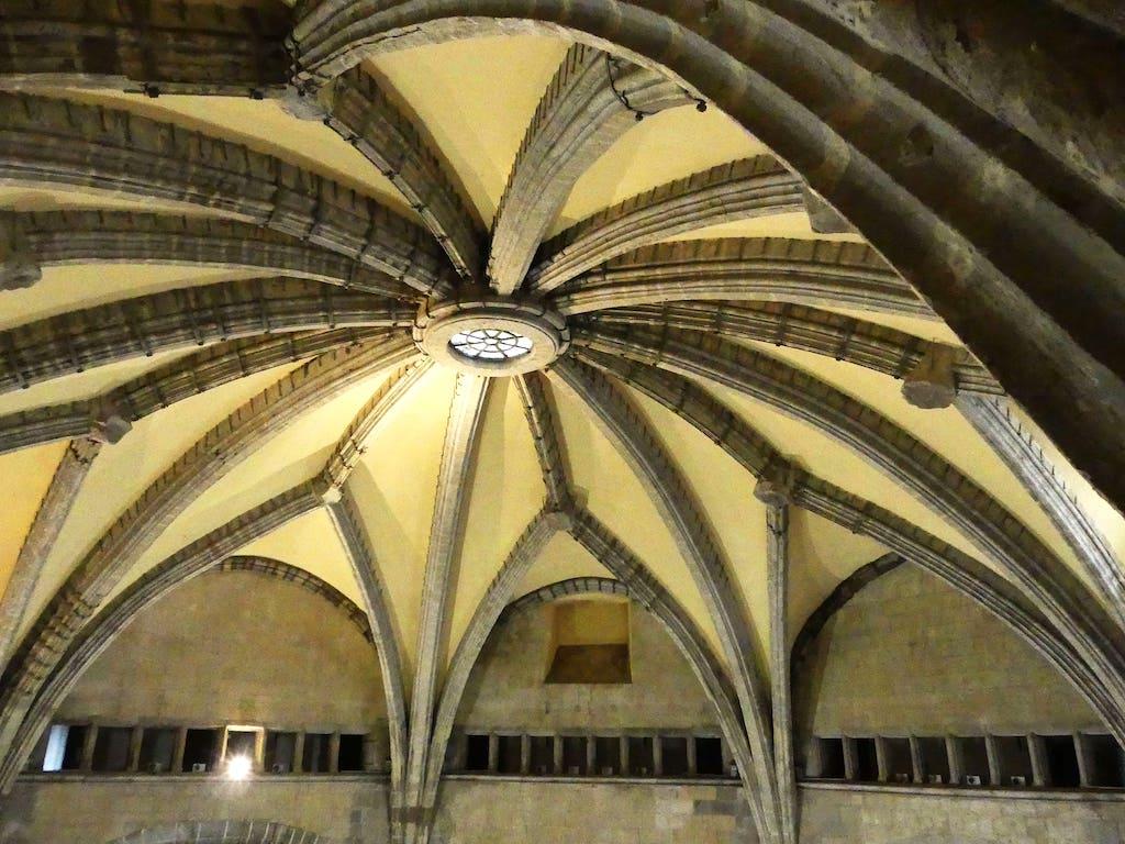 Volta della sala dei Baroni, Castel Nuovo Napoli