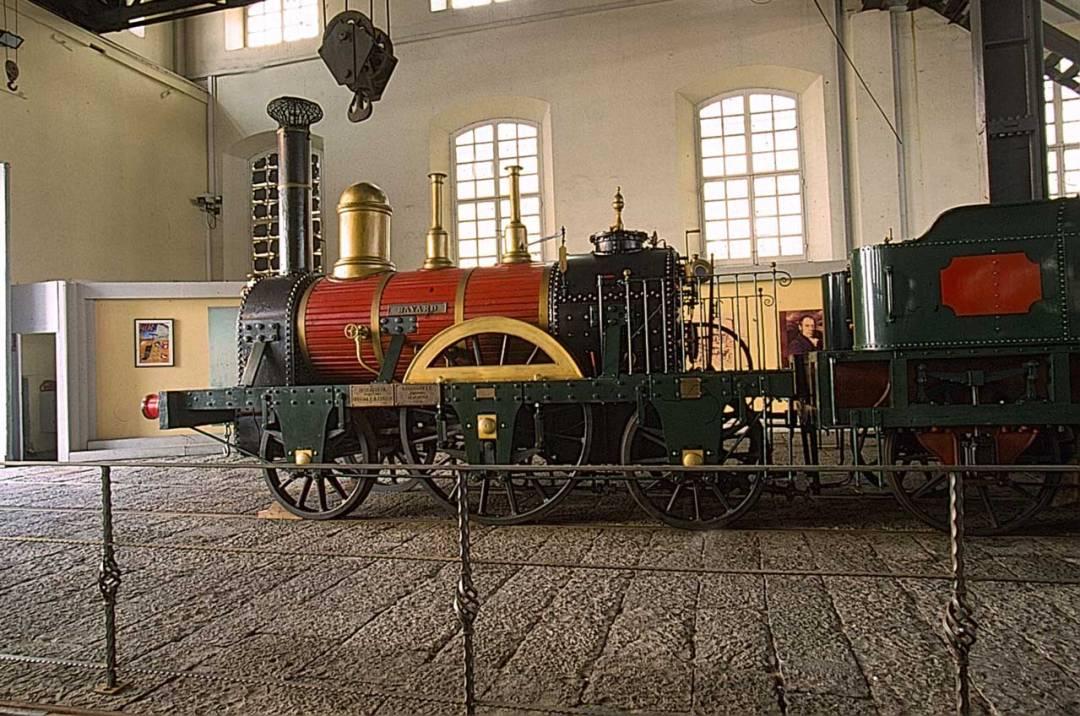 Il Museo di Pietrarsa, quando la ferrovia si fa guardare