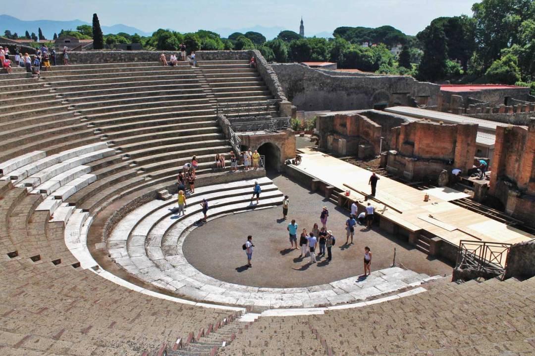 Pompei, Teatro Grande