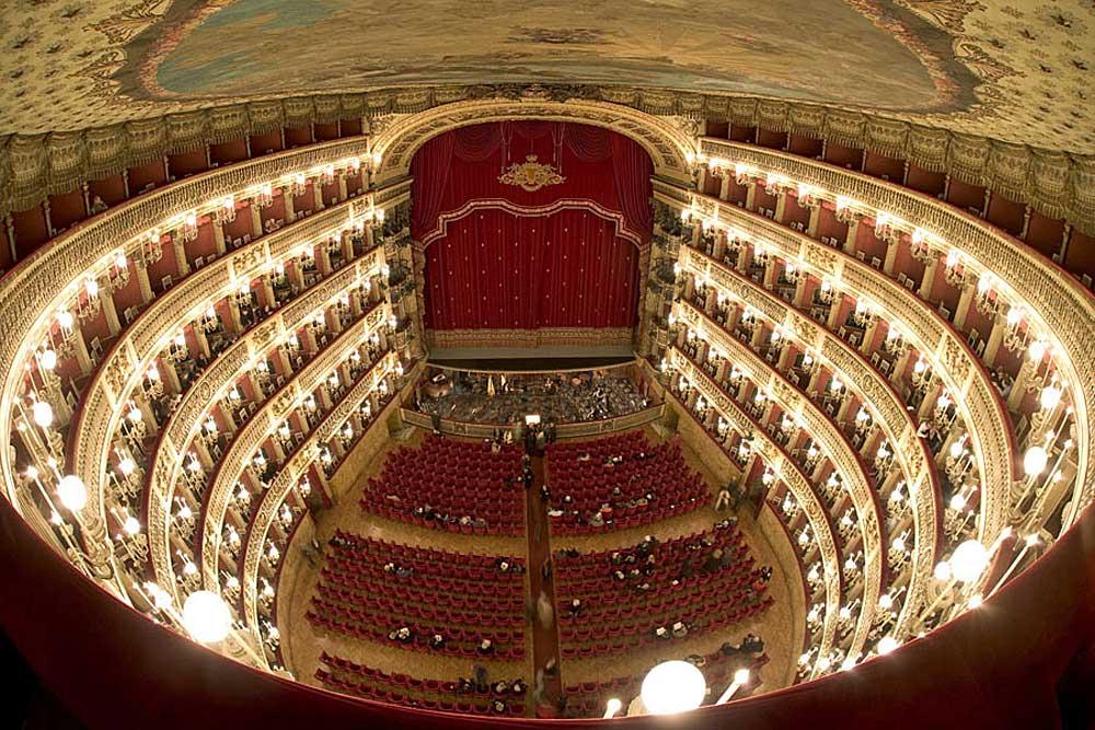 Teatro San Carlo, Napoli (interno)