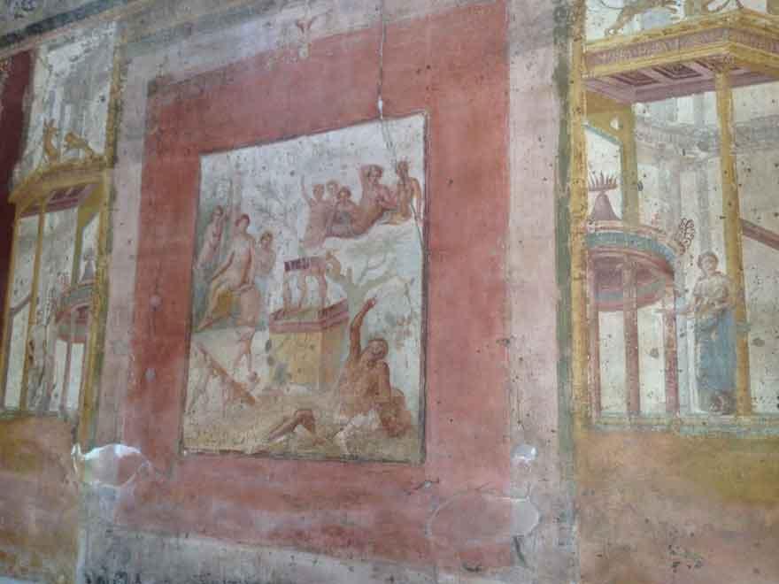 Pompei scavi: Casa di Sirico