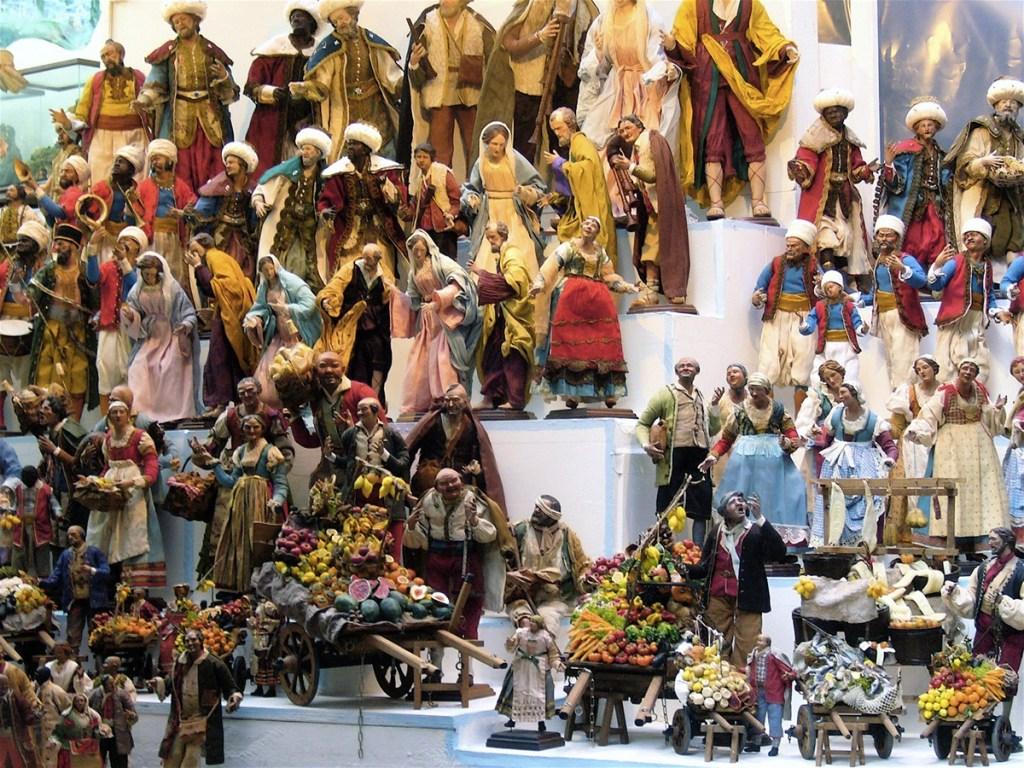 Il presepe di San Gregorio Armeno, Napoli