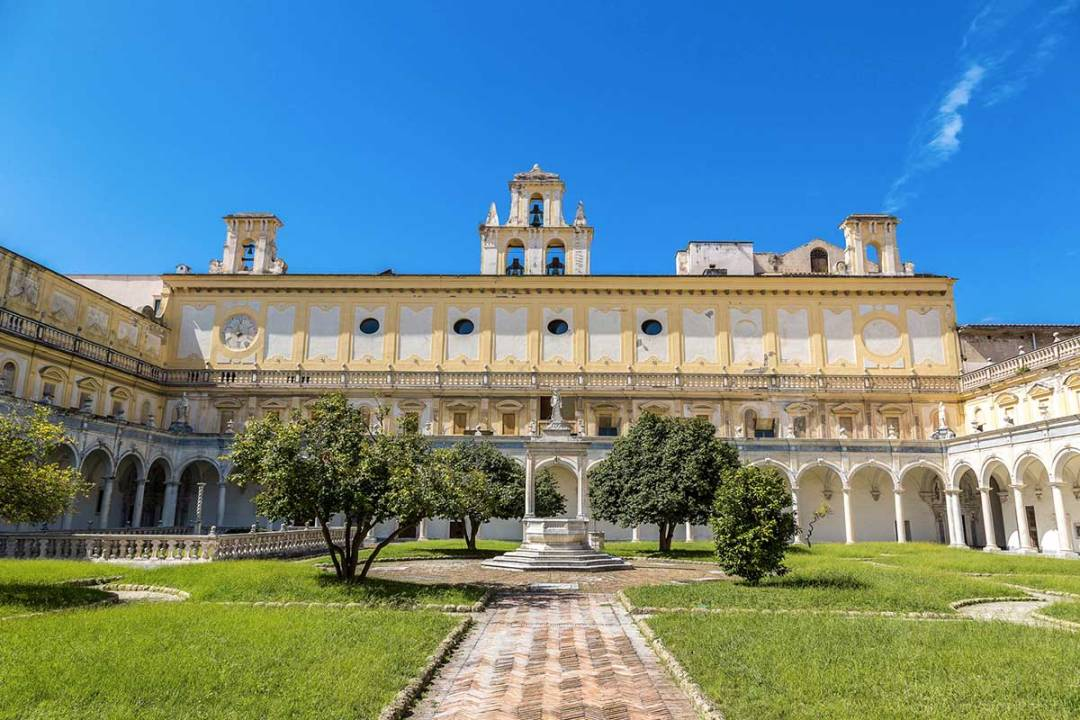 Domenica Al Museo - San Martino Chiostro grande