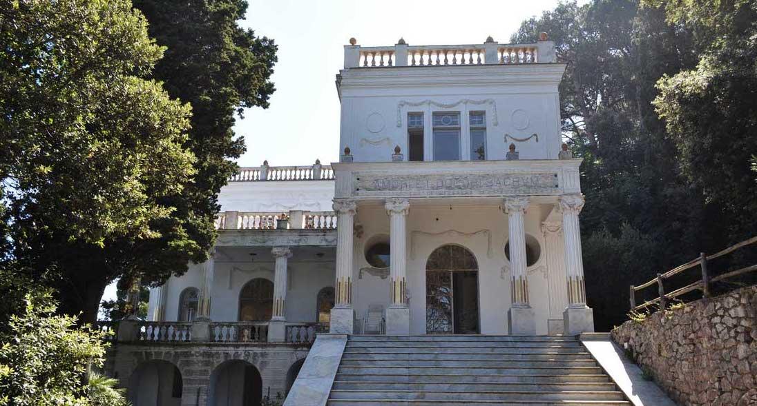 Villa Lysis a Capri, la dimora del Barone di Fersen