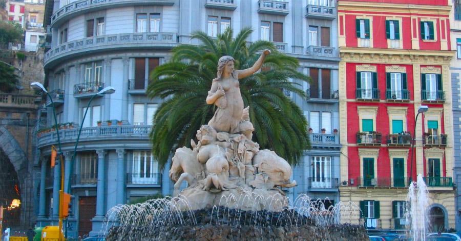 La città di Napoli e le sue leggende