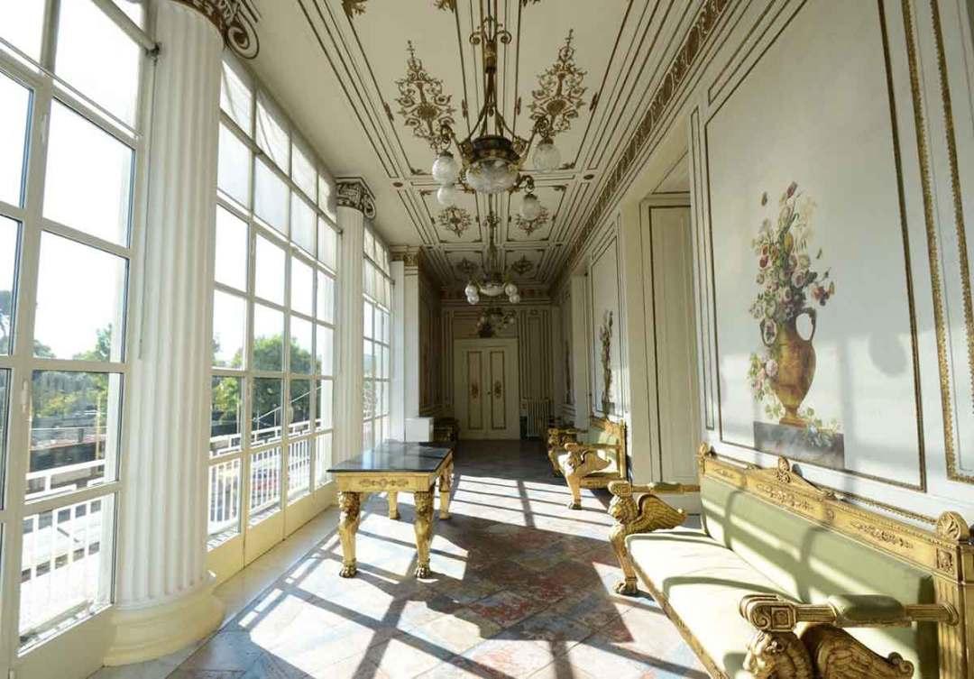 Napoli - Palazzo San Teodoro, la galleria