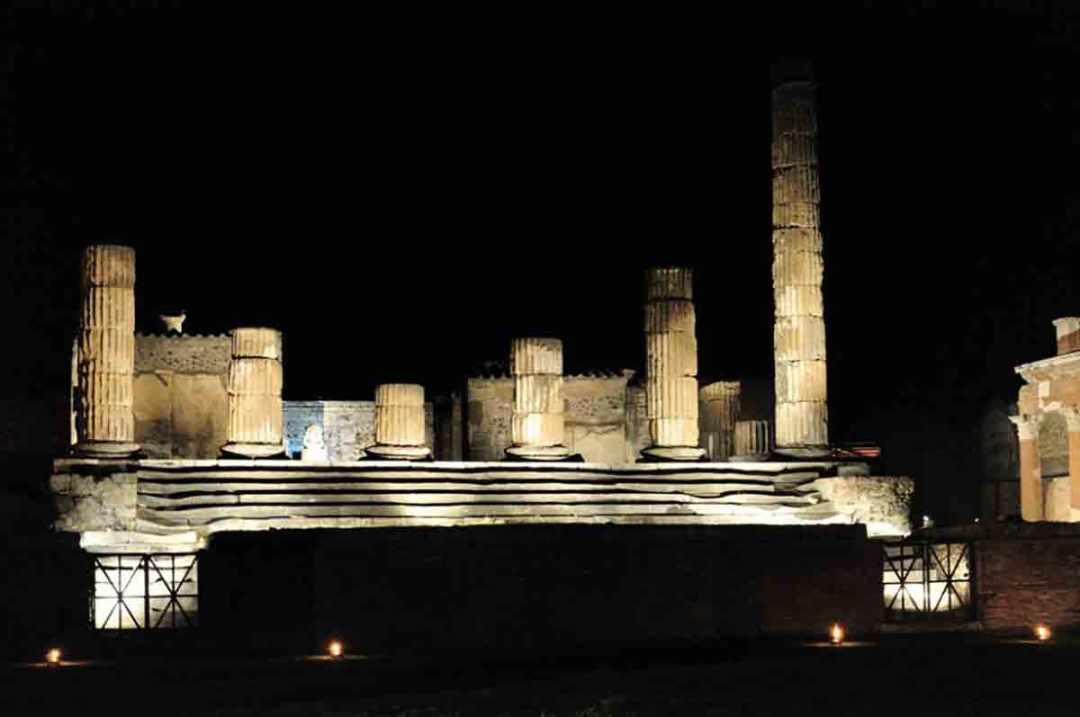 Percorso di visita - Una notte a Pompei