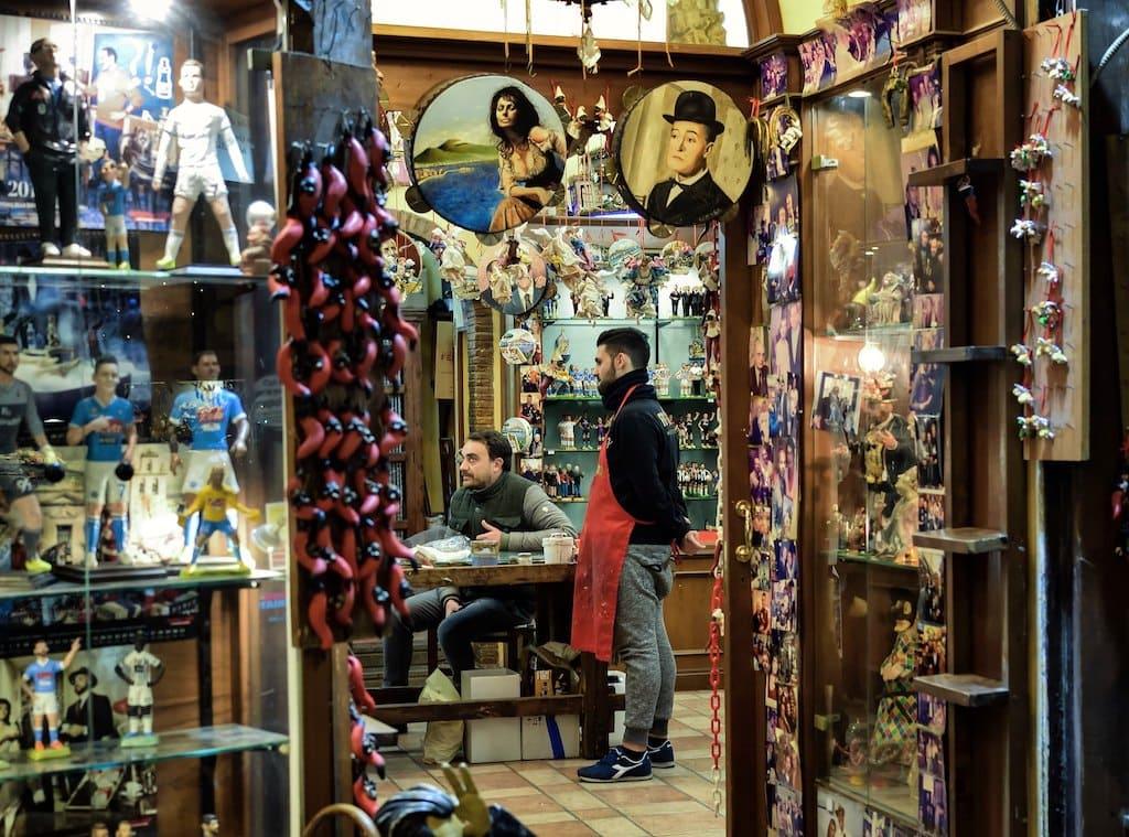 le botteghe del presepe a Napoli