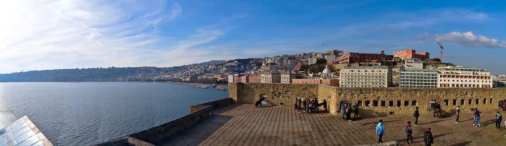 Terrazza Castel dell'Ovo Napoli