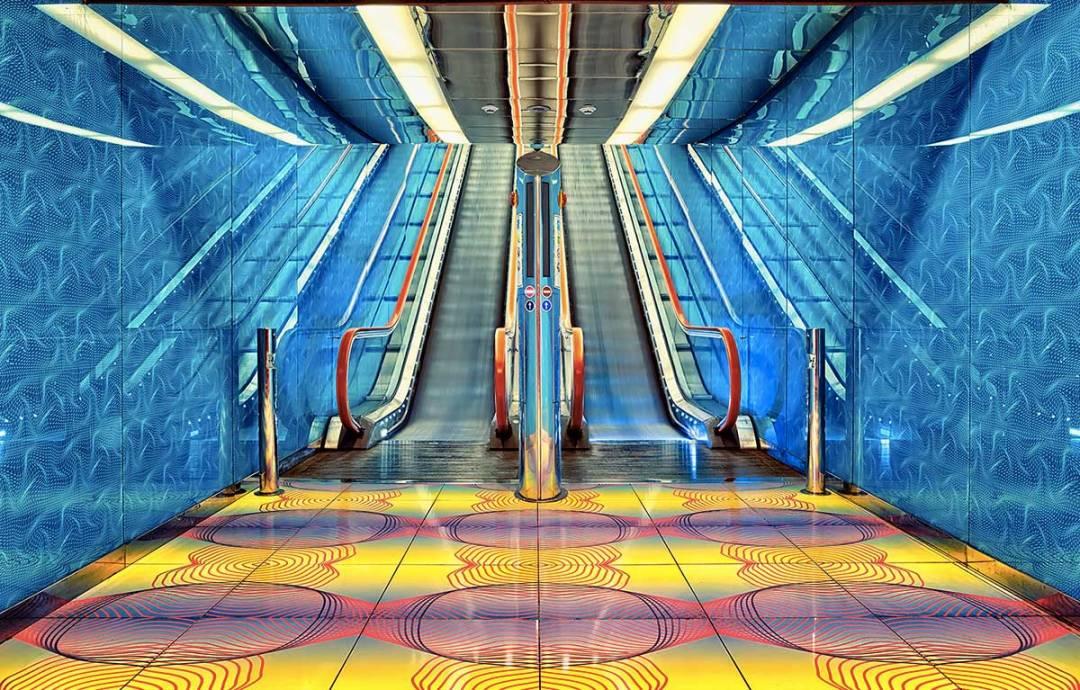 Metro Art Tour - Fermata Universita