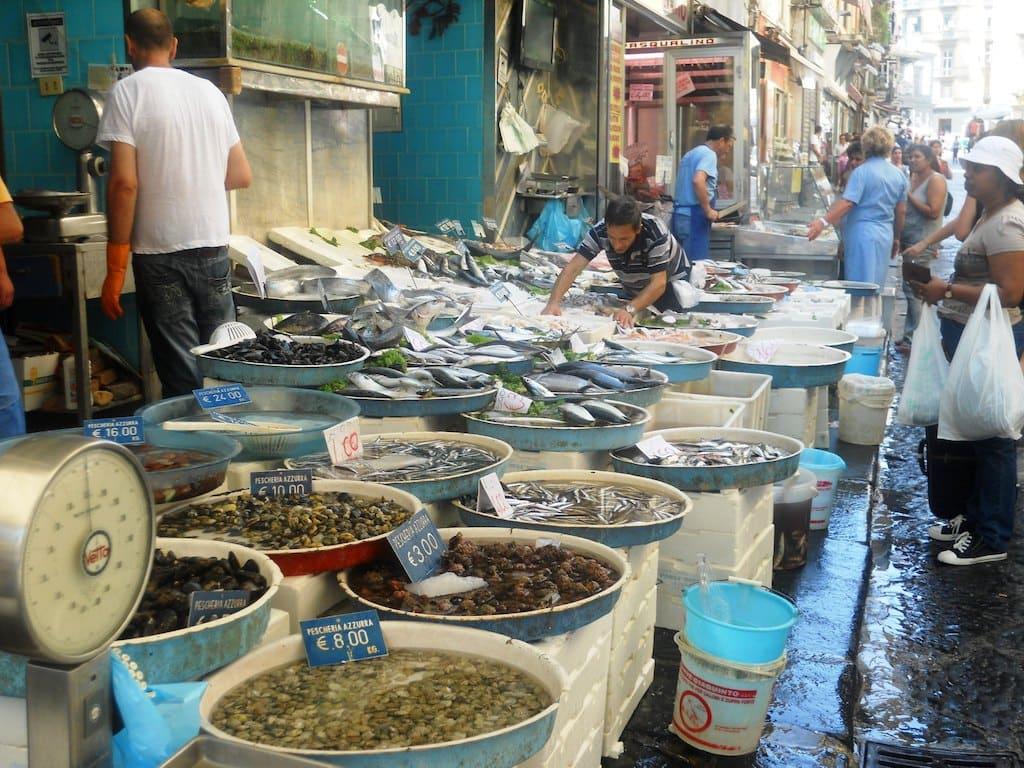 Mercato della Pignasecca Napoli