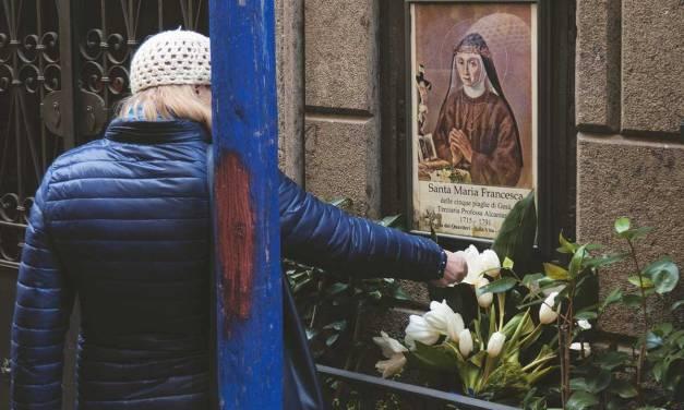 Santa Maria Francesca dalle cinque piaghe e la Sedia della fertilità