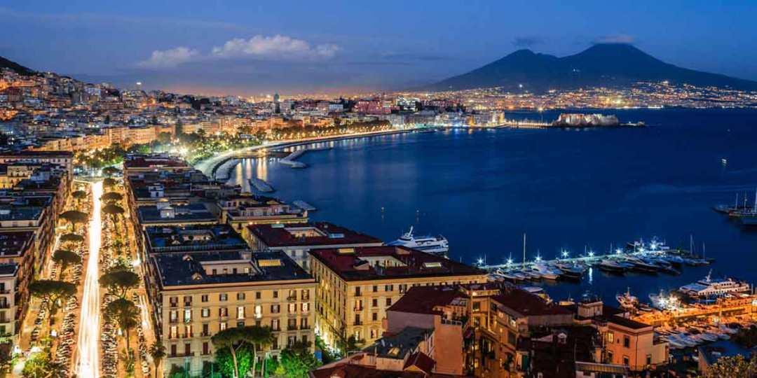 Panorama di Napoli da Sant Antonio