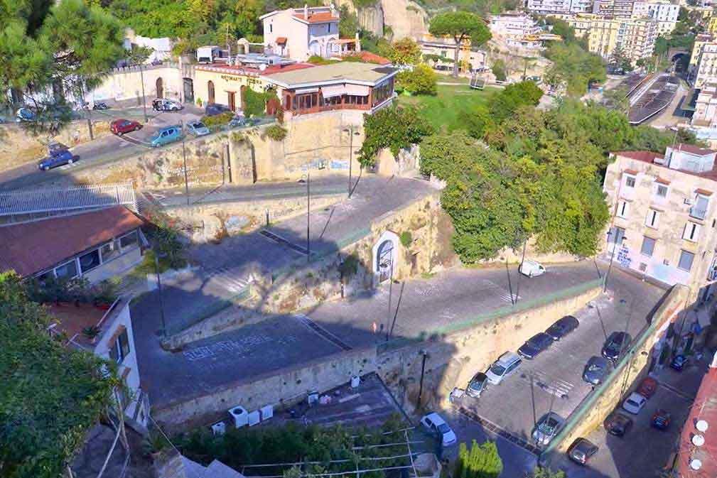 Rampe di Sant\'Antonio a Posillipo - Napoli Turistica