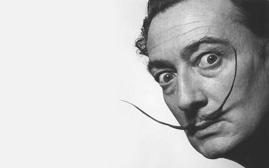 Salvador Dalí al Pan di Napoli