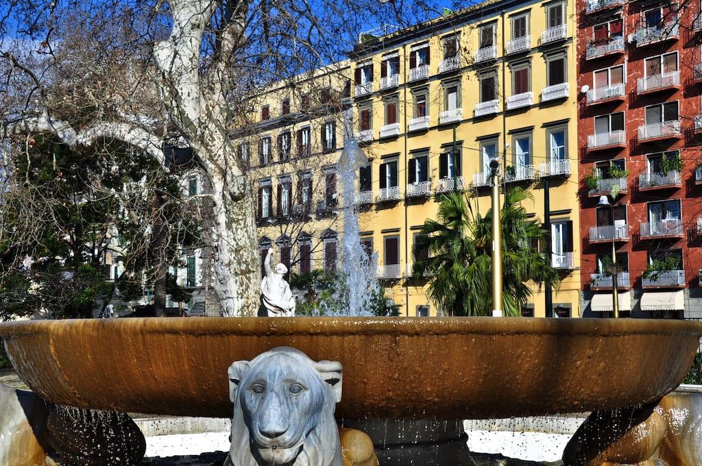 Le fontane di Villa Comunale di Napoli