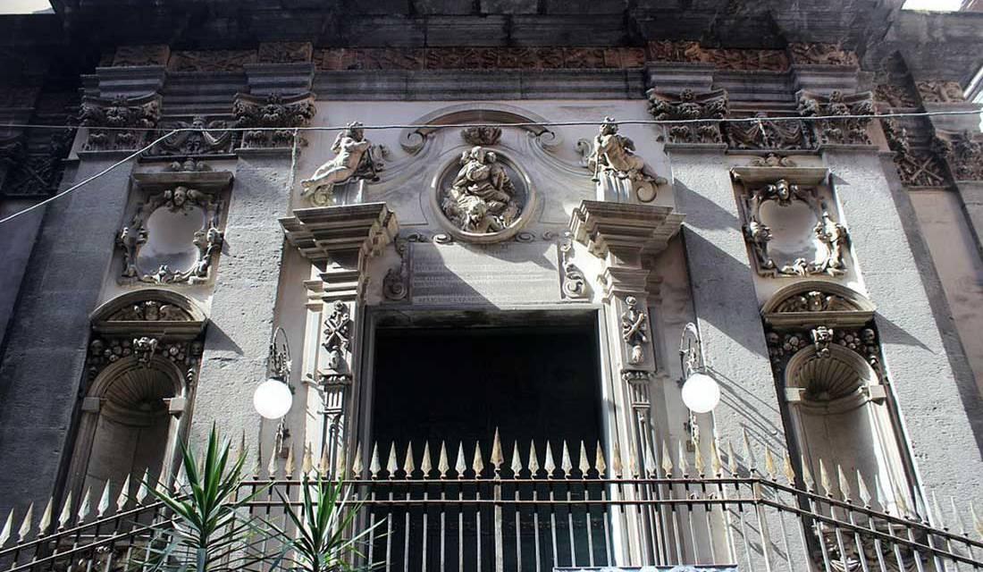 Chiesa di Santa Maria delle Animedel Purgatorio ad Arco Napoli