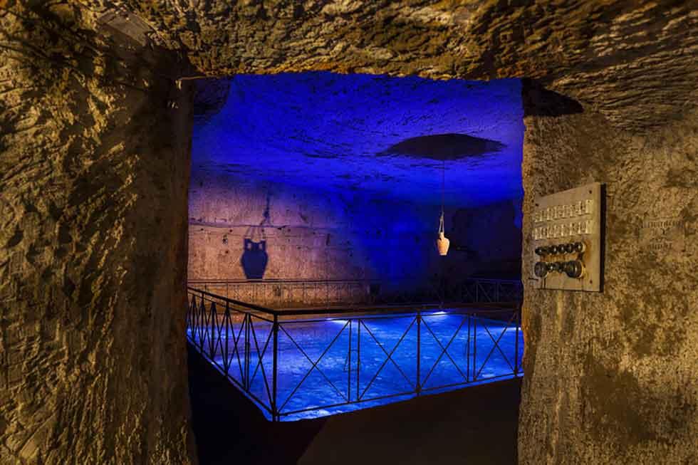 Galleria Borbonica Cisterna Napoli