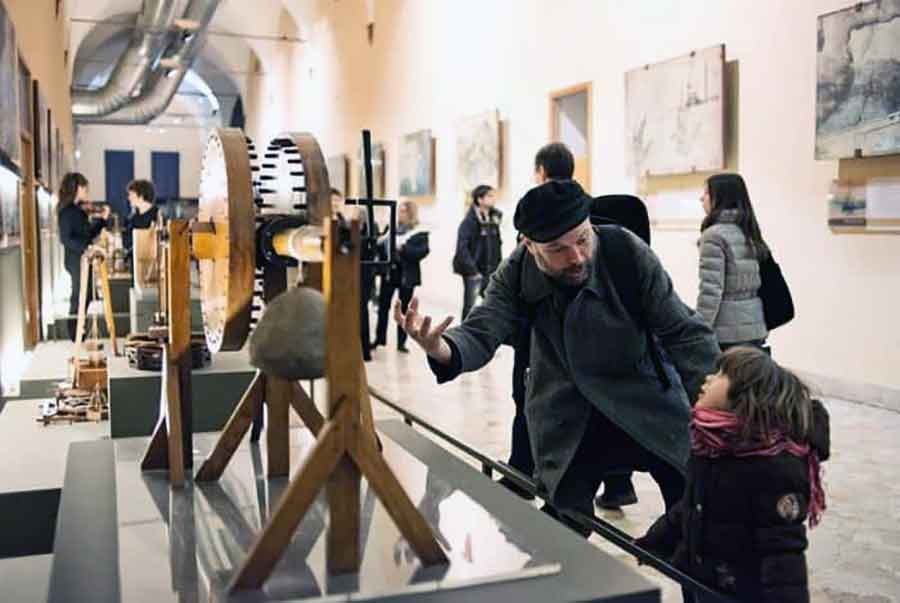 Mostra Leonardi da Vinci Sorrento