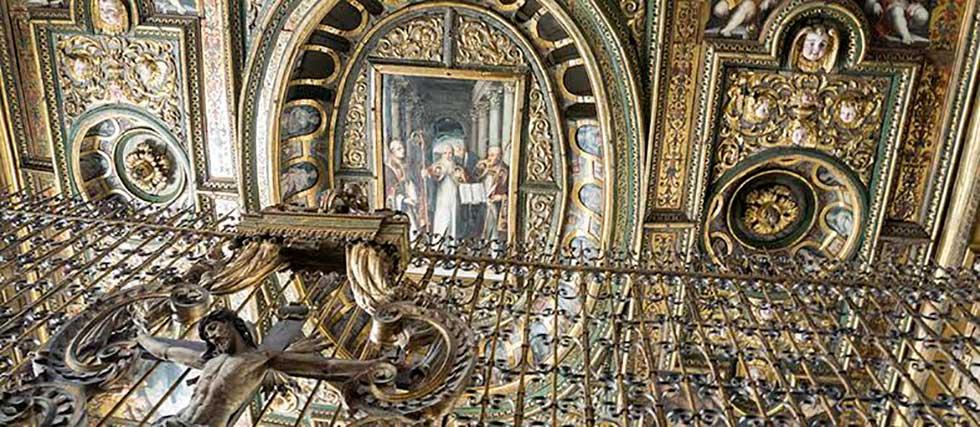 Resultado de imagen de chiesa san gregorio armeno napoli soffitto
