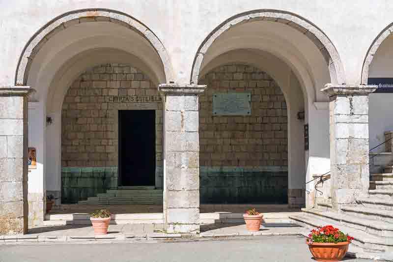 Santuario di Montevergine Cripta