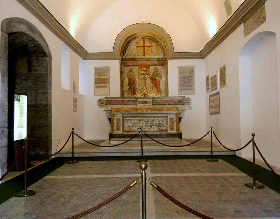 Cappella Pontano Interno