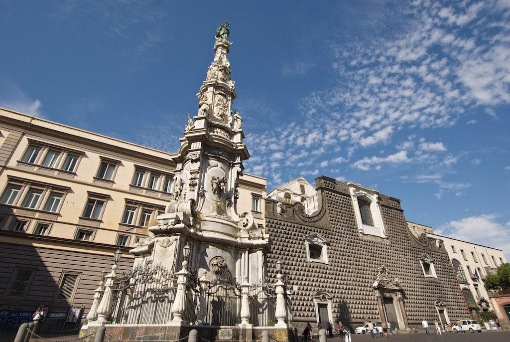 Napoli Obelisco dell Immacolata