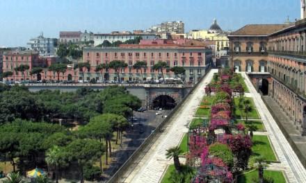 Il Giardino Pensile di Palazzo Reale di Napoli torna al suo antico splendore