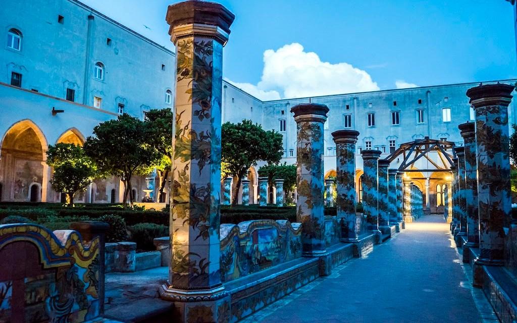 Una notte nel Chiostro di Santa Chiara a Napoli 2019