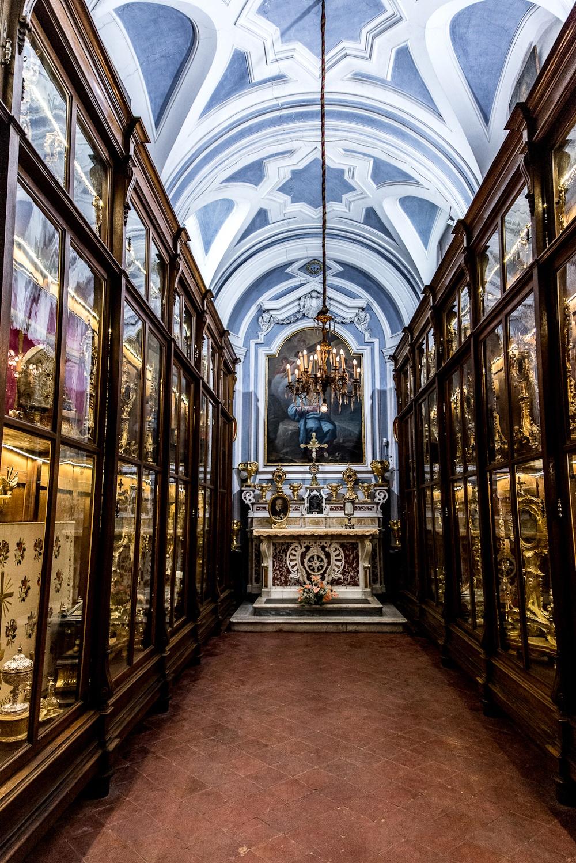 Cappella delle Reliquie Complesso Monumentale Vincenziano Napoli
