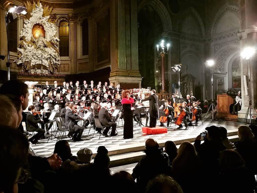 Concerto di Natale Duomo di Napoli