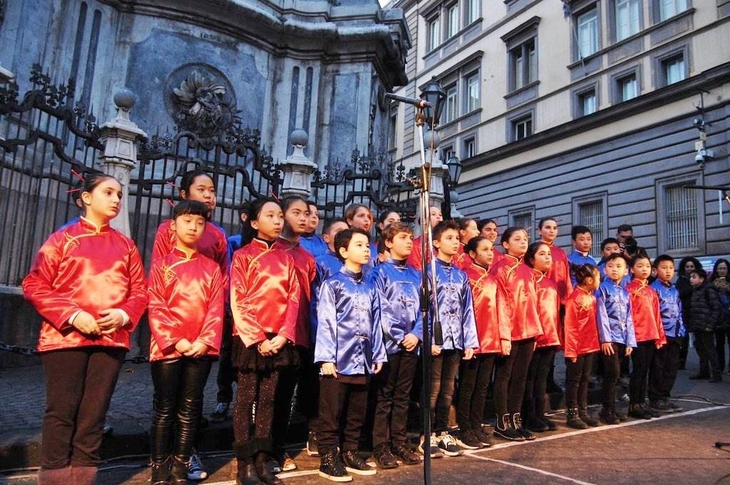 Capodanno Cinese Coro Mulan