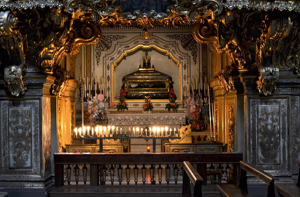 Santa Patrizia, reliquiario