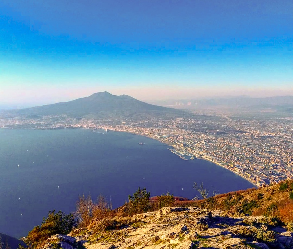 Panorama dal Monte Faito