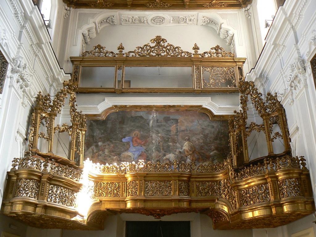 Chiesa di Santa Maria Donnalbina, Cantoria