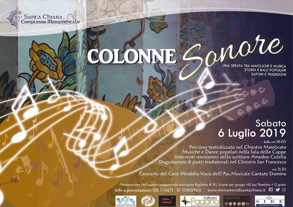Colonne Sonore a Santa Chiara, Napoli