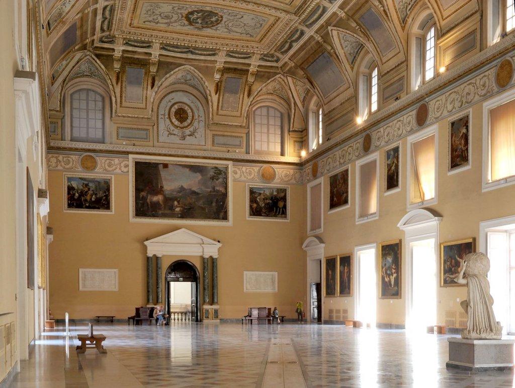 Meridiane di Napoli MANN Napoli Salone della Meridiana