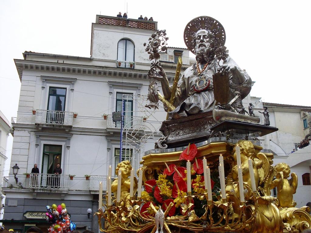 Statua di Sant Andrea Amalfi