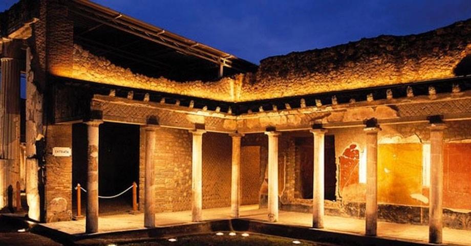 Visita guidata notturna alla Villa Imperiale di Oplontis
