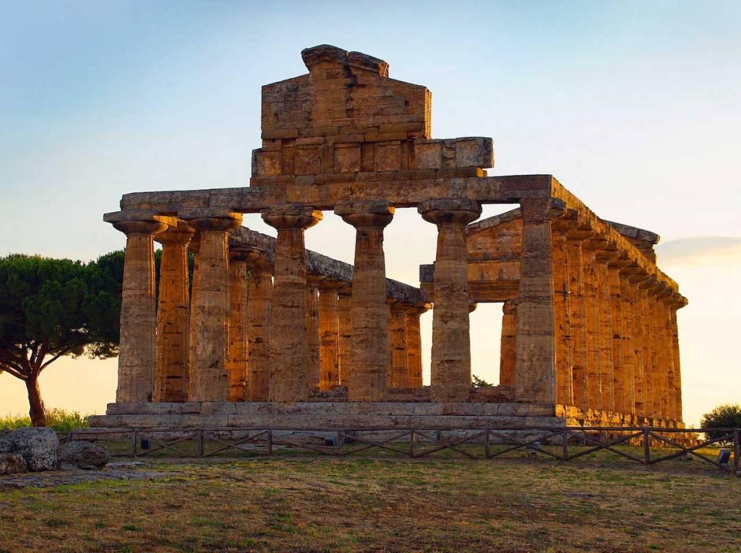 Tempio di Atena, Paestum