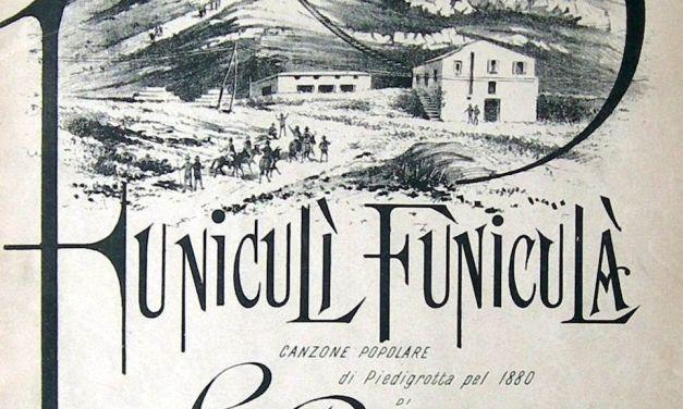 Funiculì funiculà, quando il Vesuvio aveva la funicolare