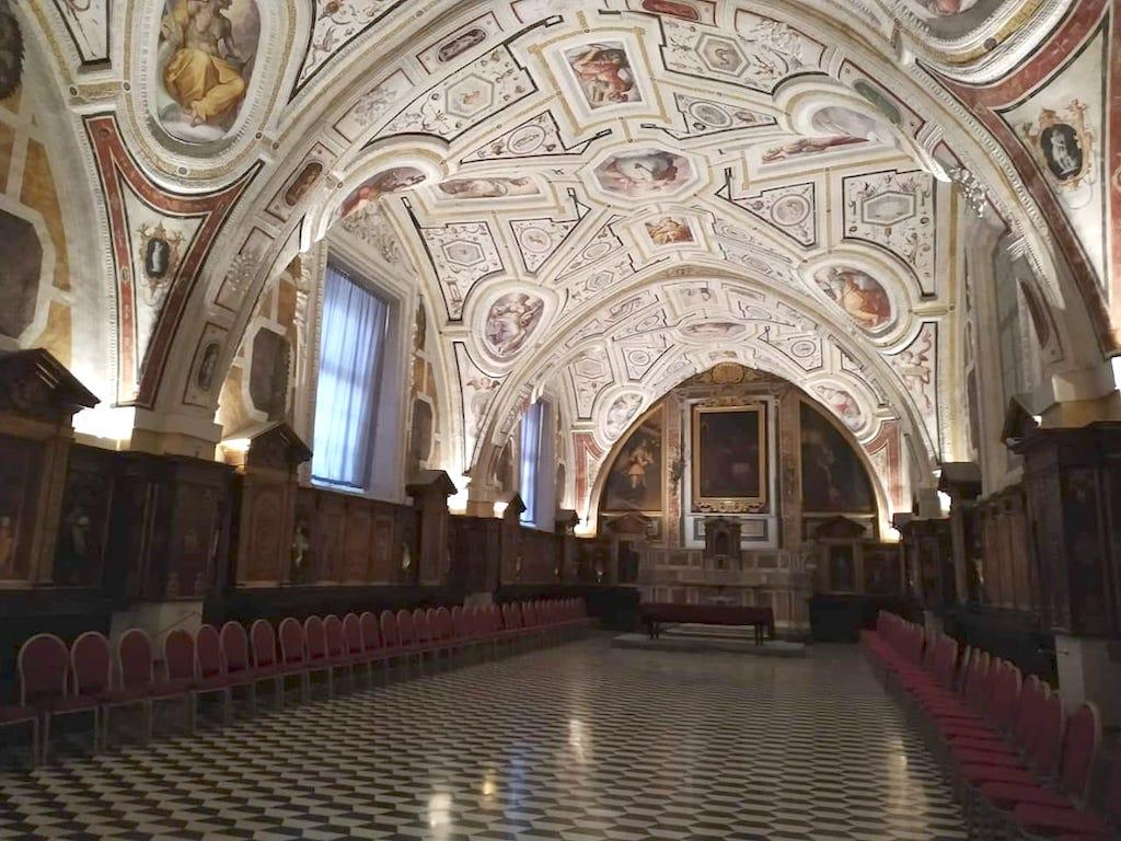 S.Anna dei Lombardi cappella del Vasari Napoli