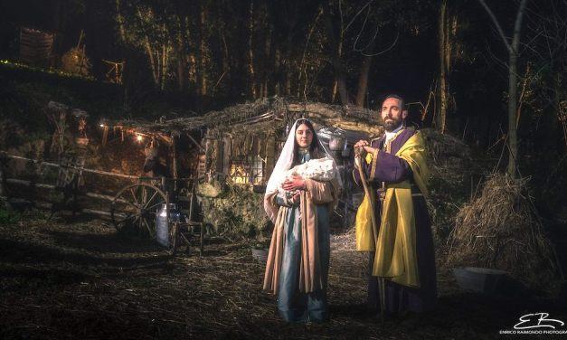 Presepe vivente del 700 nel borgo della Vaccheria di Caserta (2019)